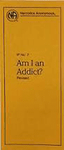 Am i an addict informational pamphlet